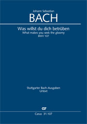 Johann Sebastian Bach: What makes you seek the gloomy