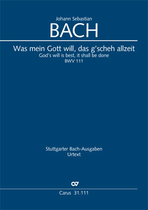 Johann Sebastian Bach: God's will is best, it shall be done