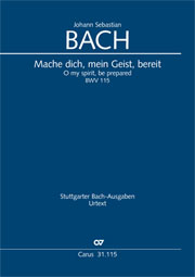 Johann Sebastian Bach: O my spirit, be prepared
