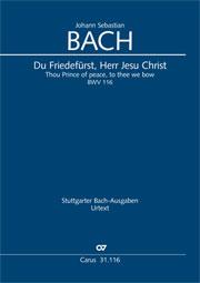 Johann Sebastian Bach: Du Friedefürst, Herr Jesu Christ