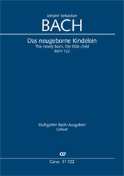 Johann Sebastian Bach: The newly born, the little child