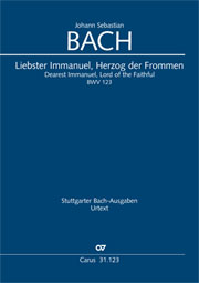 Johann Sebastian Bach: Dearest Immanuel, Lord of the Faithful
