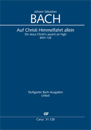 Johann Sebastian Bach: On Jesus Christ's ascent on high
