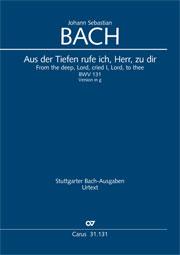Johann Sebastian Bach: Aus der Tiefen rufe ich, Herr, zu dir