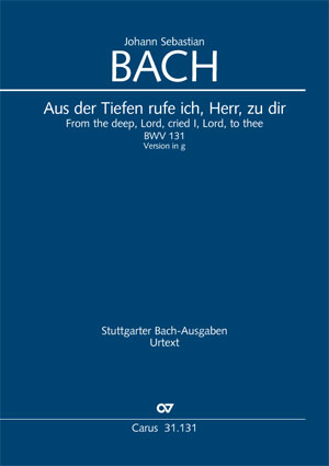Johann Sebastian Bach: From the deep, Lord, cried I, Lord, to Thee