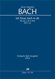 Johann Sebastian Bach: My joy is all in thee