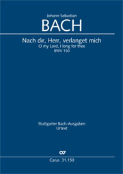 Johann Sebastian Bach: O my Lord, I long for thee