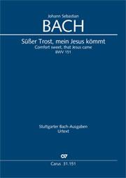 Johann Sebastian Bach: Süßer Trost, mein Jesus kömmt