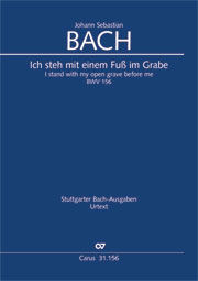 Johann Sebastian Bach: I stand with my open grave before me