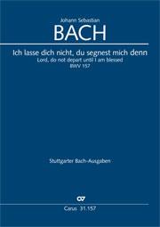 Johann Sebastian Bach: Seigneur, ne pars pas jusqu'à ce que je sois béni