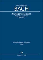 Johann Sebastian Bach: Do justice to all men