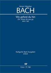 Johann Sebastian Bach: Oh, where do you go