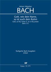 Johann Sebastian Bach: God, as thy name is, so is thy praise