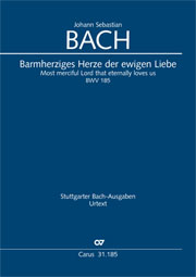 Johann Sebastian Bach: Most merciful Lord that eternally loves us