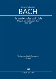 Johann Sebastian Bach: They all are waiting on thee