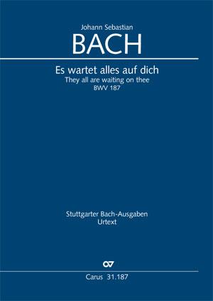 Johann Sebastian Bach: They all are waiting on thee