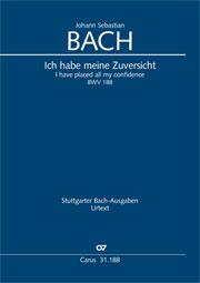 Johann Sebastian Bach: I have placed all my confidence