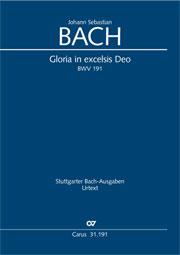 Johann Sebastian Bach: Gloria in excelsis Deo