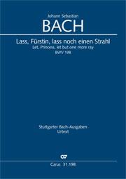 Johann Sebastian Bach: Lass, Fürstin, lass noch einen Strahl