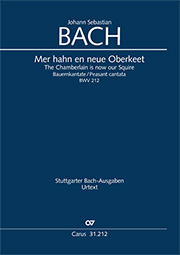 Johann Sebastian Bach: The Chamberlain is now our Squire