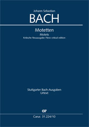 Bach: The complete motets (without Bc)