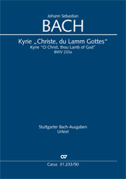 Bach: Kyrie (2 versions)