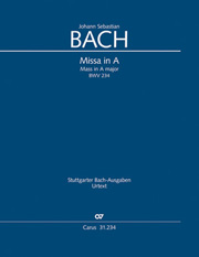 Johann Sebastian Bach: Mass in A major