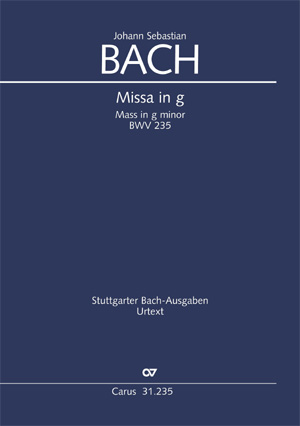 Johann Sebastian Bach: Mass in G minor
