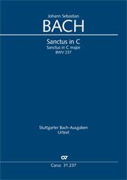 Johann Sebastian Bach: Sanctus en ut majeur