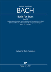 Bach for Brass 3: Latin Church Music and Oratories