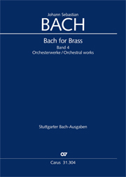 Bach for Brass 4: Works for orchestra
