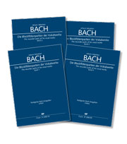 Bach: The recorder parts of his vocal works