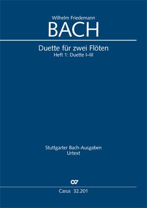 W. F. Bach: Duette für zwei Flöten, Band 1
