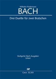 Bach, W. F.: Drei Duette für zwei Bratschen