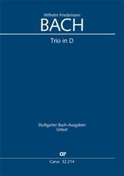 Wilhelm Friedemann Bach: Trio D-Dur
