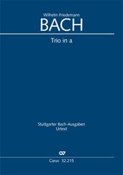 Wilhelm Friedemann Bach: Trio a-Moll