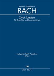 Bach, W.F.: Flötensonaten in e-moll und F-Dur