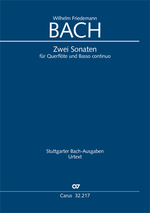 Bach, W.F.: Flute Sonatas in E minor and F Major