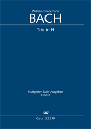 Wilhelm Friedemann Bach: Trio H-Dur