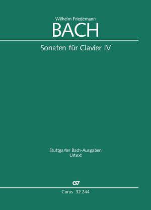W. F. Bach: Sonaten für Clavier IV