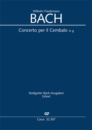 Wilhelm Friedemann Bach: Concerto per il Cembalo in g