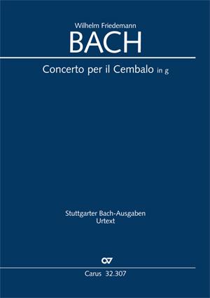 Wilhelm Friedemann Bach: Concerto per il Cembalo in g