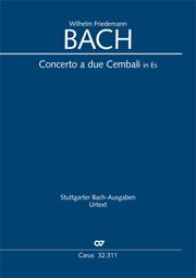 Wilhelm Friedemann Bach: Concerto a due Cembali in Es