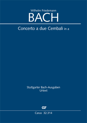 Wilhelm Friedemann Bach: Concerto per il Cembalo in a
