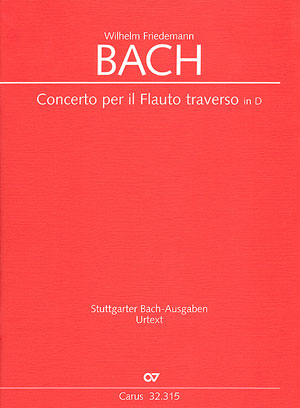 Wilhelm Friedemann Bach: Flötenkonzert in D