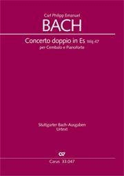 Carl Philipp Emanuel Bach: Concerto doppio per Cembalo e Pianoforte en mi bémol majeur