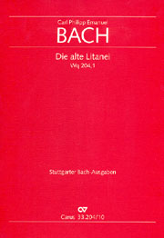 Carl Philipp Emanuel Bach: Lord of all, be merciful