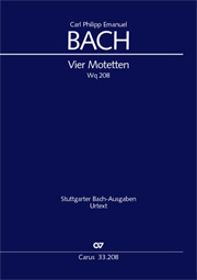 C.P.E. Bach: Four Motets