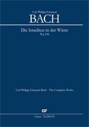 Bach, C.P.E.: Die Israeliten in der Wüste
