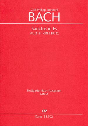 Carl Philipp Emanuel Bach: Sanctus in Es